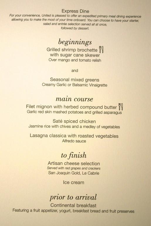 Dinner List